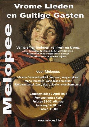 Vrome Lieden en Guitige Gasten...verhalen en liederen programma door Melopee